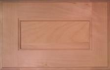 DTDF 1058HZF - Drawer Front Solid Wood - White Birch