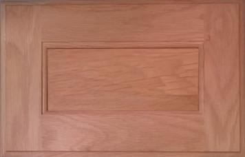 DTDF 1038HZF - Drawer Front Solid Wood - White Oak