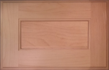 DTDF 1038HZF - Drawer Front - Hard Maple
