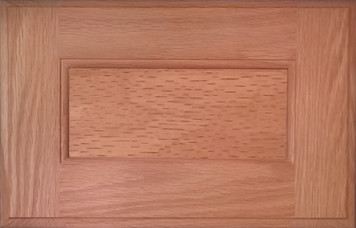 DTDF 1014HZF - Drawer Front - Plywood Red Oak