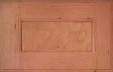 DTDF 1014HZF - Drawer Front - Plywood Cherry
