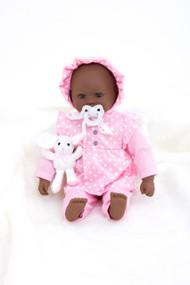 Baby Girl Doll (dark)