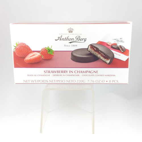 Strawberry in Champagne and Marzipan 275 g from Anton Berg