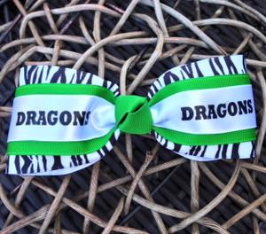 The Sarah Zebra Mascot- Dragons