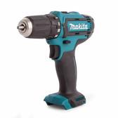 Makita DF331D cordless driver drill 10mm, keyless 10.8v, 2x battery 1.5.Ah & Charger case