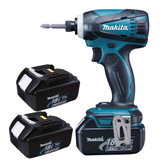 Makia DTD 146 cordless impact drive 18v, 2x battery 3.0 Ah & charger