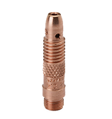 Weldcraft® TIG 10N29 Collet Body  genuine Weldcraft® TIG torch replacement 10N29 collet body for use with .020 diameter tungsten electrode. Suitable for all 17, 18 and 26 series TIG torches.