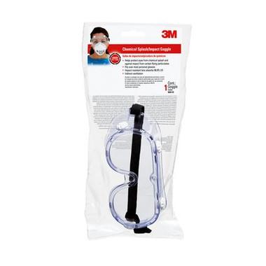 3M safety splash goggle