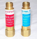 oxygen/acetylene flashback arrestor