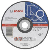 Bosch metal straight cutting disc  Diameter mm : 300 - Bore diameter mm : 22.23 - Thickness mm : 3.2 - Material that can be processed : Metal - Product type : Cutting disc - Disc shape : Straight - Depth : 4 mm - Width : 303 mm - Height : 303 mm
