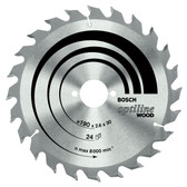Bosch circular saw blade ecoline wood 160mm, 36 teeth.