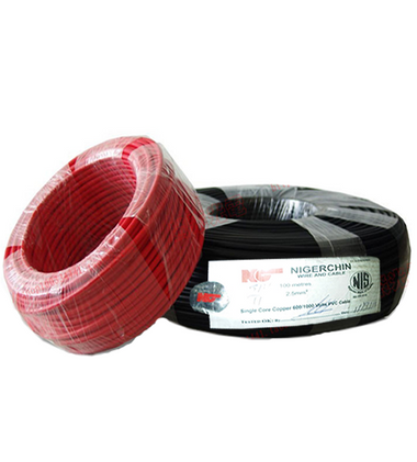NIGERCHINE SINGLE CORE COPPER WIRE 2.5MM