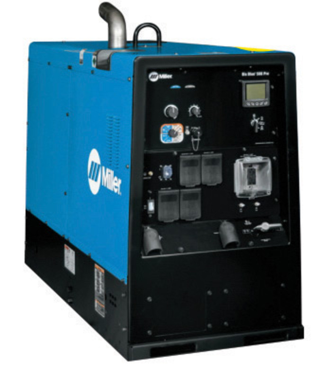 miller big blue welding machine