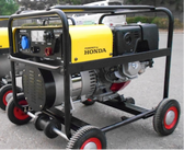 Welding machine with Honda engine petrol-driven Powerflex Brand
