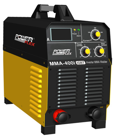 PowerFlex welding machine MMA-400i 3 phase electric-powered