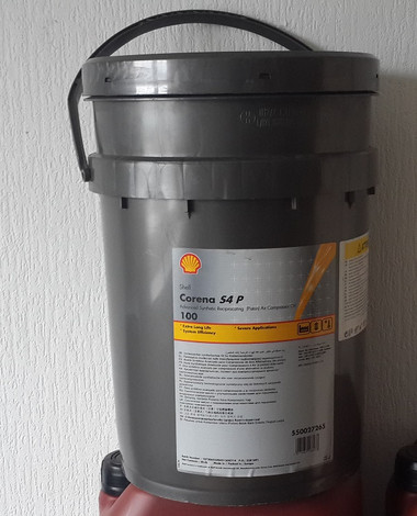 Shell Corena S4 P100 compressor oil formerly corena AP 100 compressor oil