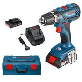 Bosch GSR 18 2 Li Plus Cordless Drill /Driver plus 36 pce accessories