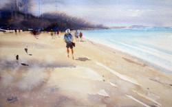 Fresh Air 1 - Handpainted Art Painting - 11in X 07in