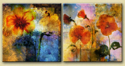 31GRP85 - Handpainted Art Painting - 48in X 24in