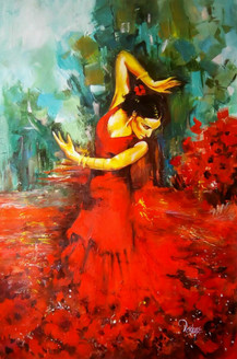 Beautiful Lady,Lady in Red,Dancing Lady,Dancing Soul