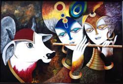 Radiance,Religious,God,Krishna,Divine Love,Radha Krishna