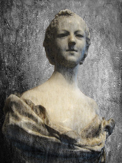 figurative painting,texture painting,white, grey shade painting, feminine figure, christianity painting,
