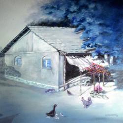 ,Landscape,ART_499_10992,Artist : MAHESHKUMAR JADHAV,Oil