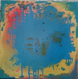 Infinity, Peace, Abstract, Horizons, Positive Energy, Positivity, Infinite,Infinity,ART_827_11489,Artist : Kalpana Dave,Oil