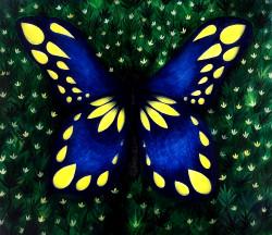 ,Butterfly,ART_464_11660,Artist : Seby Augustine,Acrylic