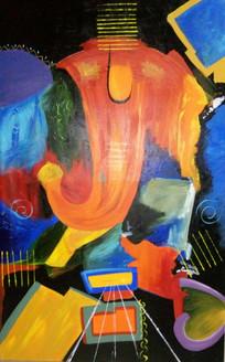,Anand Ganesh,ART_138_6897,Artist : Ila Mishra,Acrylic