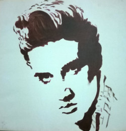 pop art,ETERNAL ELVIS,ART_1483_12075,Artist : RAJKUMAR SARKAR,Acrylic