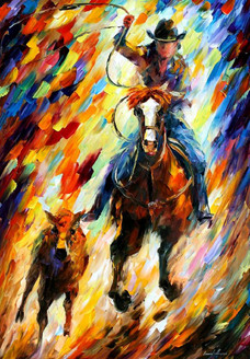 Horse riding,Hunter painting,hunting,Chasing in forest,man with horse hunting,Rodeo the Chase,FR_1523_12313,Artist : Community Artists Group,Oil