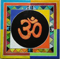 ,OM,ART_1243_12251,Artist : Ujwala Chavan,Acrylic