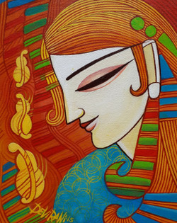 ,Melody,ART_836_5567,Artist : Debkumar Bhattacharyya (Seller),Acrylic