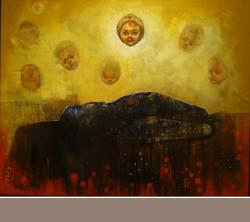 ,Doli viii,ART_836_5409,Artist : Debkumar Bhattacharyya (Seller),Acrylic