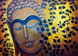 ,Buddha New,ART_1229_2675,Artist : Pallavi Jain,Acrylic