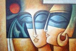 ,Romance 03,ART_1229_1424,Artist : Pallavi Jain,Acrylic