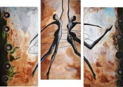 ,DAncing Souls,ART_1229_832,Artist : Pallavi Jain,Acrylic