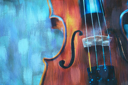 ,Violin Love,MTO_1550_17592,Artist : Community Artists Group,Mixed Media