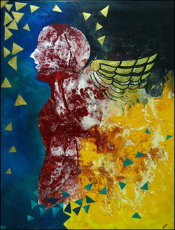 motivational, wings, fire,wings of fire,ART_2580_18981,Artist : Ankita Goenka,Mixed Media