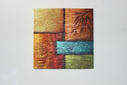 Artoholic Canvas Painting 12 INCH X12 INCH Set of 1  Special Effect Textured-N (ART_3319_22582) - Handpainted Art Painting - 12in X 12in