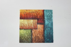 Artoholic Canvas Painting 12 INCH X12 INCH Set of 1  Special Effect Textured-N (ART_3319_22581) - Handpainted Art Painting - 12in X 12in