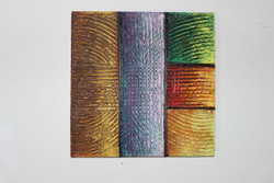 Artoholic Canvas Painting 12 INCH X12 INCH Set of 1  Special Effect Textured-N (ART_3319_22580) - Handpainted Art Painting - 12in X 12in