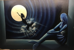 Faith (ART_3675_23673) - Handpainted Art Painting - 36in X 24in