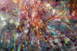 Casmos - 27in X 19in,Acrylic Colors,ART_GHBT05_2719,Artist Ganesh Bhat - Buy Painting online in india
