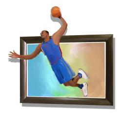 sports,basket ball,basket ball player,man ,man palying basket ball, 3D,3D paintings