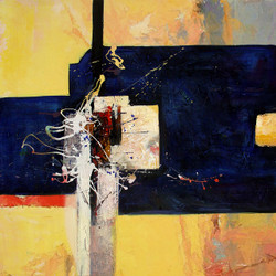 Abstract,abstract paintings,blue abstract, paintings with traces of blue