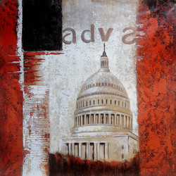 abstract,landscape,monument,brown,paintings of a monument,monument paintings