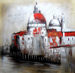abstract,monuments,landscape,paintings of monuments,monument paintings