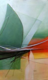 abstract,green,simple,minimilistic,elegant paintings